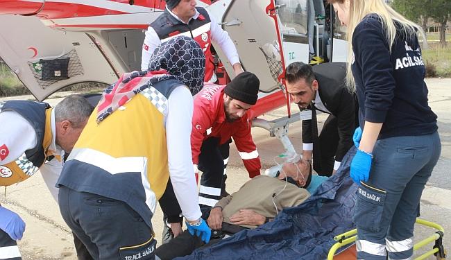 Hava Ambulansı Malatya'dan Gitti