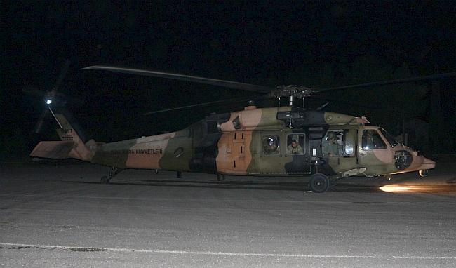 Askeri Helikopter Hastayı Alamadan Döndü
