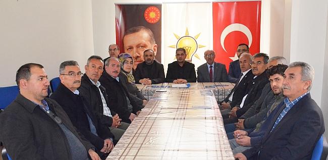 AKP Akçadağ'a Yeni Yönetim