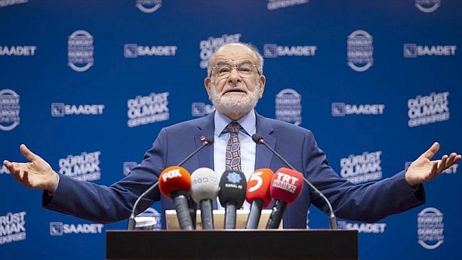 """""""Erbakan'ın Yolundan Gitmenin Ölçüsü Saadet Partili Olmaktır"""""""