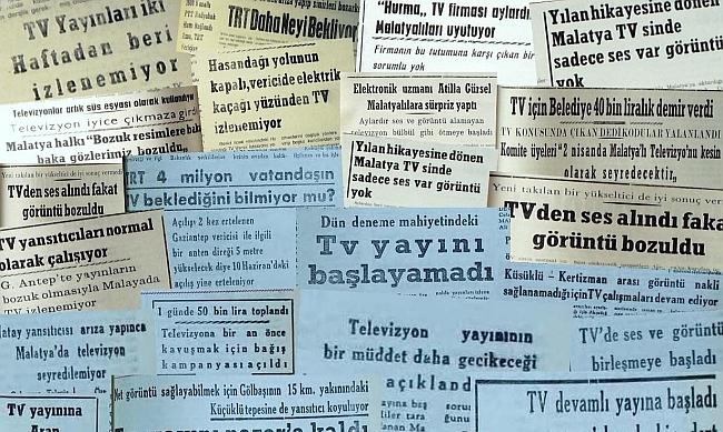 Malatya'nın 'VİZONTELE' Öyküsü