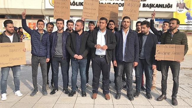 Erdoğan'a Ayasofya İçin Destek
