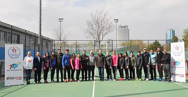 Malatya KYK Tenis Projesinde