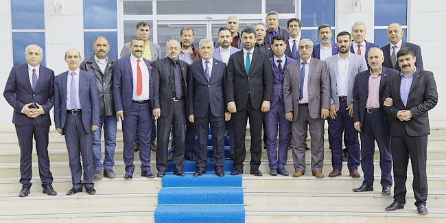 MHP'den Güder'e Ziyaret