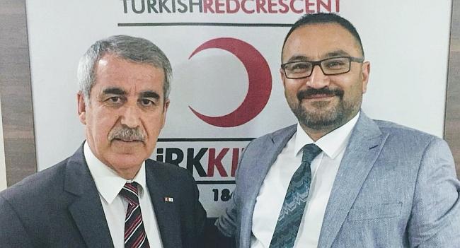 Kızılay'da Başkan Değişti