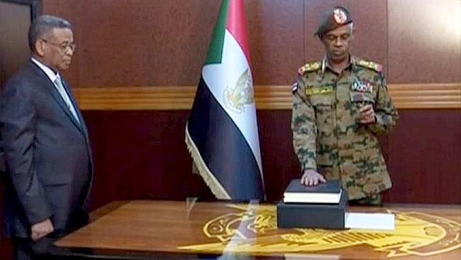 Sudan'da Avf Yemin Etti