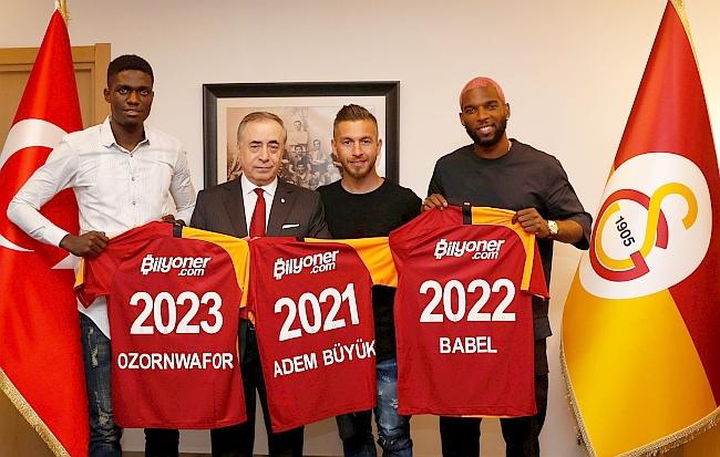 Galatasaray Adem Büyük'ü Açıkladı