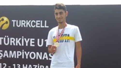 Serhat Güngör Türkiye Şampiyonu