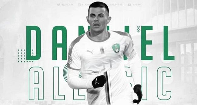 Aleksic Suudi Arabistan Kulübüne Gitti