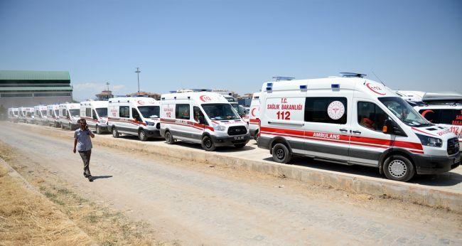 """""""Türkiye, Dünyanın En Geniş Ambulans Filolarına Sahip"""""""
