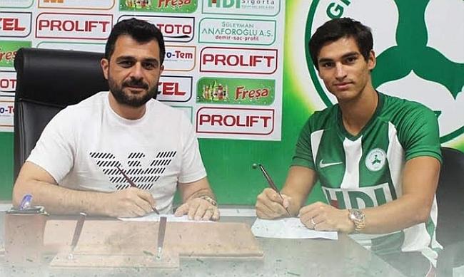 Murat Akça Giresunspor'a Gitti