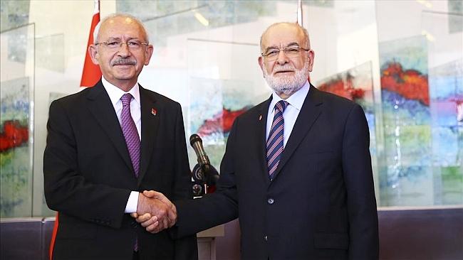 Kılıçdaroğlu'ndan Karamollaoğlu'na Ziyaret
