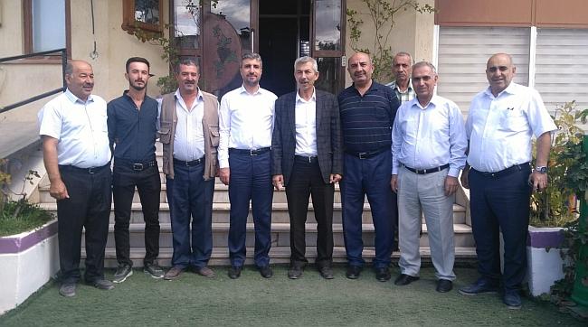 SP Yönetiminden Arapgir Ziyareti