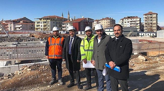 Battalgazi Devlet Hastanesi Gelecek Yıl Tamamlanacak