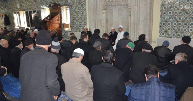 Diyanet İşleri Başkanı Hasarlı Yeni Cami'de İnceleme Yaptı
