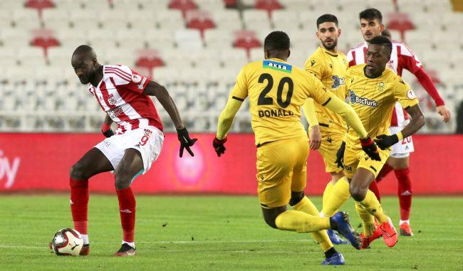 BYMS Kupada Sivas'tan Fark Yedi:4-0