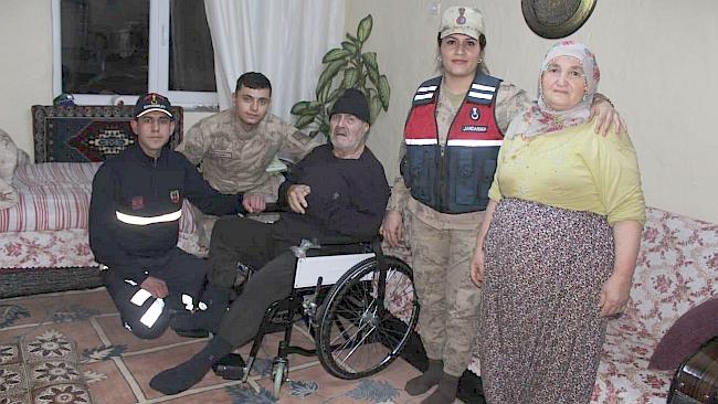 Jandarmadan Tekerlekli Sandalye