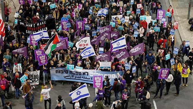 İsrail'de de Trump'un Sözde Planına Tepki