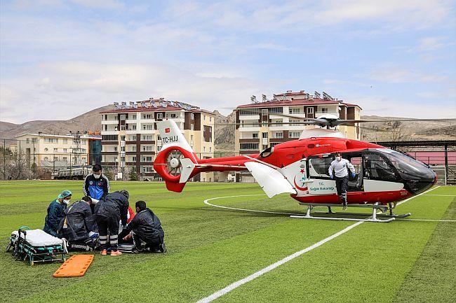 Helikopterle Malatya'ya Getirildi