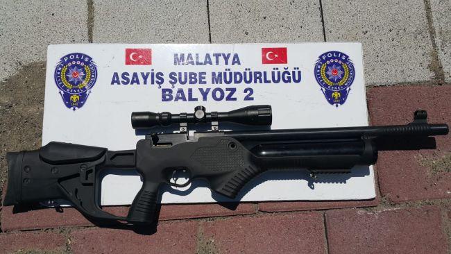 4 Suç Faili yakalandı, Silah ve Uyuşturucu Ele Geçti