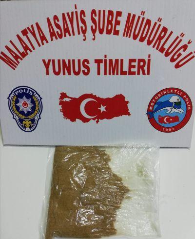 polis uyuşturucu