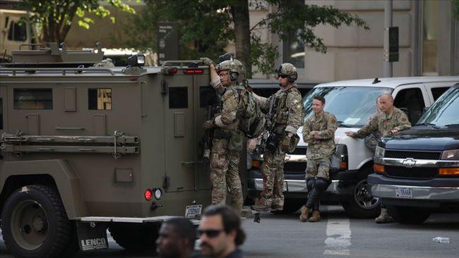 Pentagon Washington'dan Asker Çekiyor
