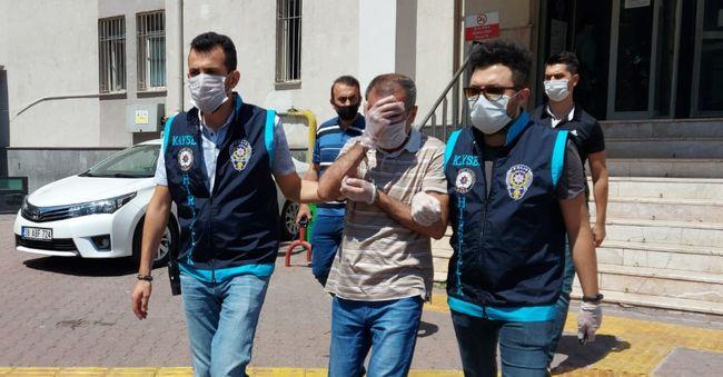Hastane Hırsızı Kayseri'de Yakalandı