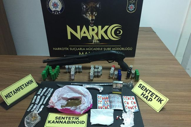 Narkotik Polisten Şafak Operasyonu