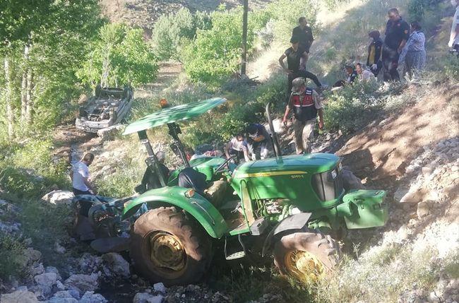 traktör kaza