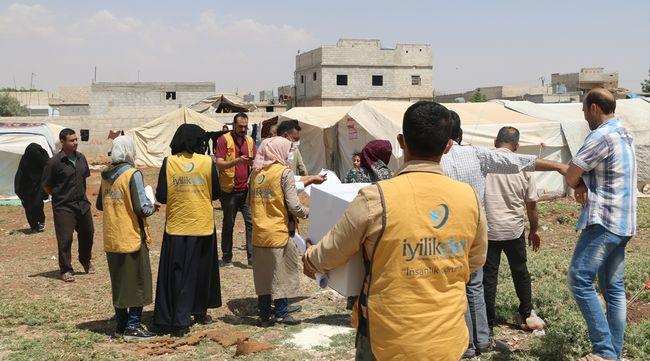 Suriye'ye Gıda Kolisi ve Temizlik Seti