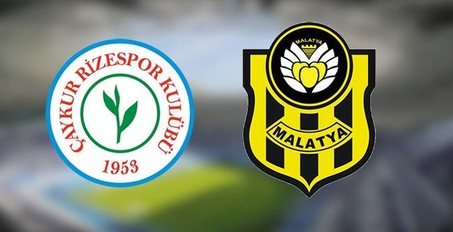 H.Yeni Malatyaspor, Ç.Rizespor'la 6. Kez Oynuyor