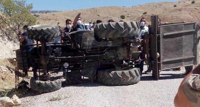 Bir 'Ölümlü' Traktör Kazası Daha..