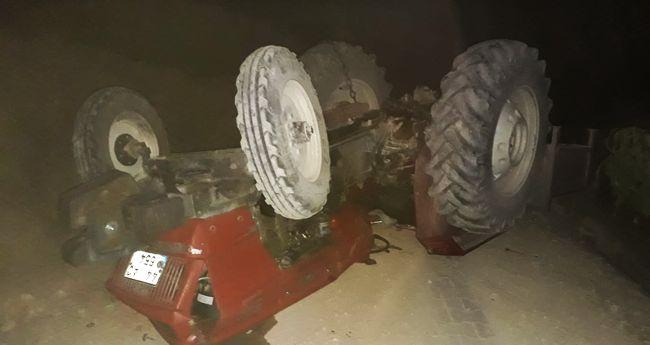 Yine Traktör Kazası.. 1 Ölü