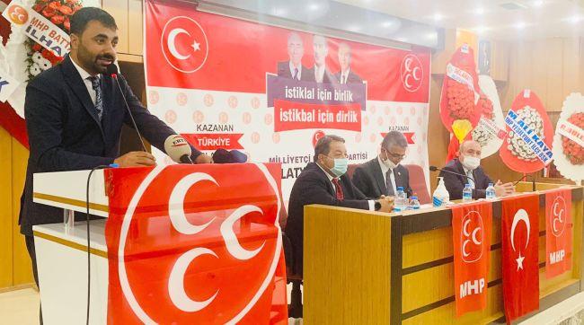 MHP'nin Malatya İl Kongresi Yapıldı
