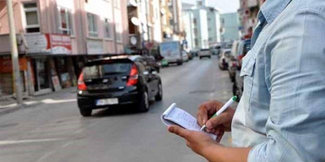Fahri Trafik Müfettişlerinden 1800 Ceza Tutanağı