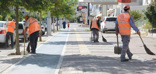 'Sıkıntılı Yerler'de Büyükşehir Temizliği