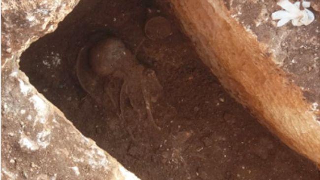 Perre'de 1500 Yıllık İskelet