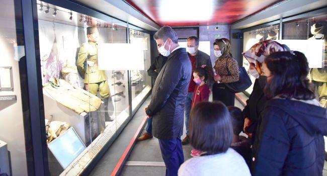 Çanakkale Gezici Müzesi Malatya'da