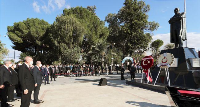 Cumhurbaşkanı Erdoğan, KKTC'nin 37. Kuruluş Törenlerinde