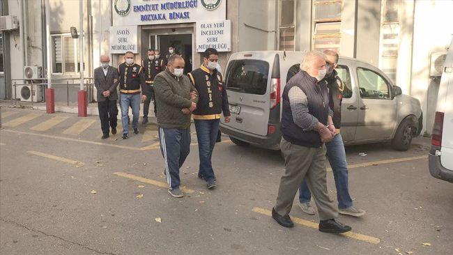 'Mezar Binalar'a 7 Tutuklama
