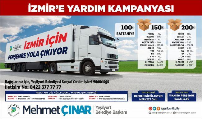 İzmir Depremi İçin Kampanya