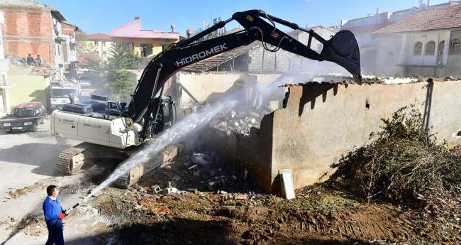 Turgut Özal'da 'Kentsel Dönüşüm' Yıkımı