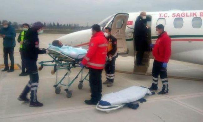 Uçakla Malatya'ya Getirildi