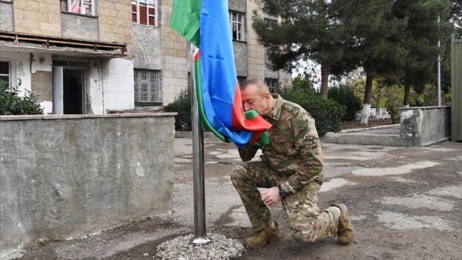 Aliyev İşgalden Kurtarılan Şehri Ziyaret Etti