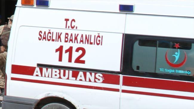 Jandarma Aracı Kaza Yaptı, 5 Yaralı