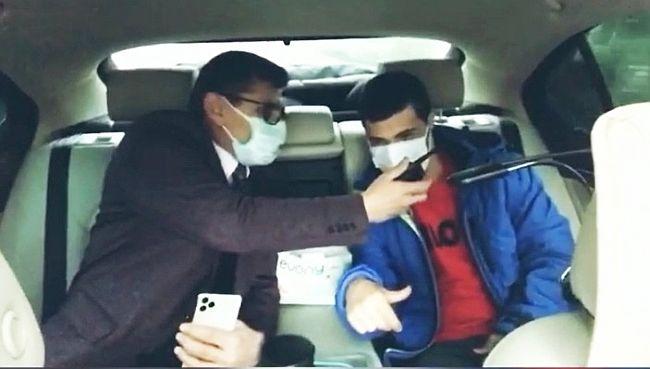 Halil İbrahim'den Polise Telsiz Anonsu