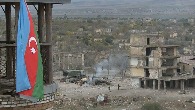 Ermenistan Dağlık Karabağ'da Ateşkesi İhlal Etti