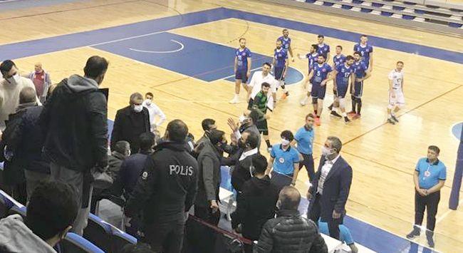 Olaylı Maçta MBB, TÜRŞAD'ı Mağlup Etti