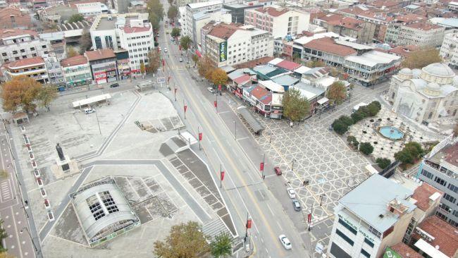 Cadde ve Sokaklara Sessizlik Hakim Oldu