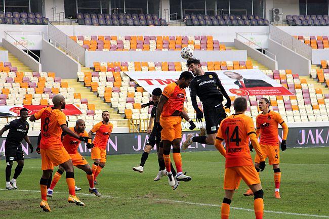 YMS, Galatasaray'a Sahasında Mağlup Oldu: 0-1